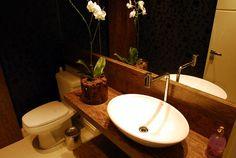 14 banheiros charmosos de profissionais do CasaPro - Casa.com.br