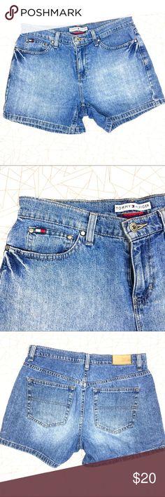 Tommy Hilfiger Boyfriend Shorts Boyfriend Shots by Tommy Hilfiger .  5-pocket style Zipper button closure Tommy Hilfiger Shorts Jean Shorts