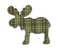 Moose Silhouette Applique Machine Embroidery Digital Design Caribou Hiking Woods Elk