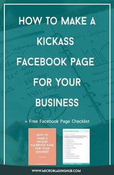 How To Make a Kickass Facebook Page for Your Business