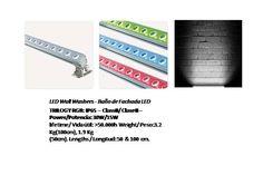 solicite datos técnicos: ventas@imexter.com #LightingDesign #DiseñoJardin #WallWasher