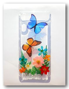 Handmade SONY XPERIA Z2  case Resin with Dried by Annysworkshop, $18.00