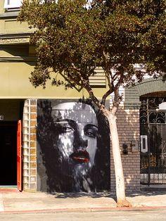 By Rone street art