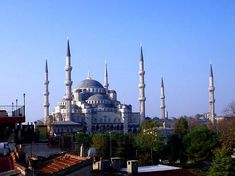 Istanbul, Turkey Blue Mosque - been here!!  Beautiful