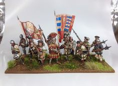 Army Royal: The Battle of the Spurs, sculpting & terrain bumper bonanza ! Military Diorama, Military Art, Military History, Wars Of The Roses, Wargaming Terrain, Fantasy Miniatures, World History, Minis, Sculpting