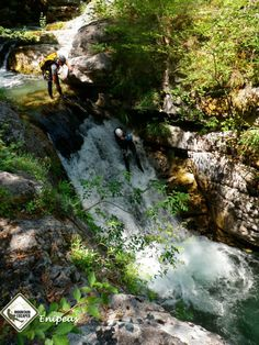Canyoning Greece, by AGreekAdventure.com. Photo by Soulis Canyoning.