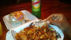 In my Pozé city. Portuguese chicken @cantinhoexpress