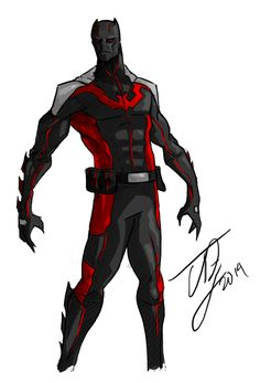Batman Beyond Redesign by TheoDJ on DeviantArt 7/12/2016 ®....#{T.R.L.}