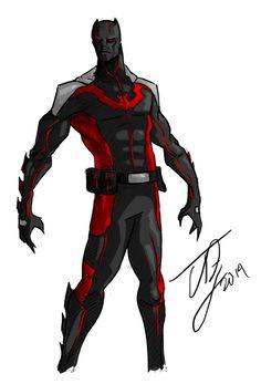 Batman Beyond Redesign by TheoDJ on DeviantArt 7/12/2016 ®....#{T.R.L.}