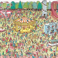 Post with 51 votes and 25254 views. Shared by pretzelo. Where's Wally? Where's Waldo Pictures, Wo Ist Walter, Ou Est Charlie, Wheres Wally, Ligne Claire, Hidden Pictures, Illustration, Gi Joe, Wall Collage