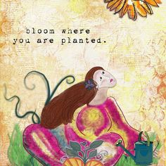Soul in Bloom by Altered Amanda's Studio @ go digital scrapbooking  #artjournaling #digisupplies #art