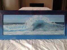 ARTFINDER: Panoramic #001 by Gianluca Cremonesi - A thrilling and dramatic scene of stormy seascape... and yet I felt safe and serene while painting this lovely seascape, I hope you can feel the same emotion...