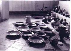 ceramiche varie nello studio