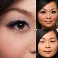 Bridal makeup before and after, Asian bridal makeup, Toronto, Markham