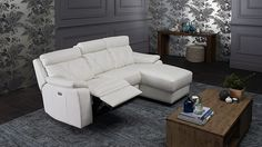 Nirvana recliner lounge with chaise
