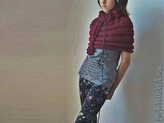 INSTANT DOWNLOAD  Convertible Caplet  Mini Skirt Cowl  Shawl.