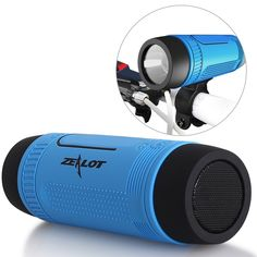 Purchase Wireless Bluetooth Speaker Outdoor Bicycle Portable Power Bank+LED light +Bike Mount+Carabiner from Fanshubuy on OpenSky. Mini Wireless Speaker, Waterproof Bluetooth Speaker, Bluetooth Speakers, Portable Speakers, Bose Wireless, Sound Speaker, Portable Charger, Boombox, Usb