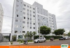 Paisagismo do Malvásia. Condomínio fechado de apartamentos localizado em Maringá / PR