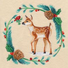 Machine Embroidery Designs at Embroidery Library! Machine Embroidery Quilts, Brother Embroidery Machine, Embroidery Fonts, Machine Embroidery Designs, Embroidery Ideas, Watercolor Quilt, Watercolor Design, Family Christmas Stockings, Embroidered Quilts