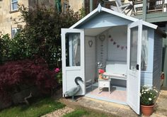 Lady Shed/ Craft space created by Waltons customer Carol.