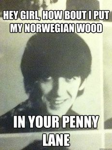 Seductive George Harrison Sorry, I had to pin this.