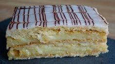 "O reteta super gustoasa de tort, ""Mille-feuille"" Mousse Au Chocolat Torte, Oreo Ice Cream, Russian Recipes, French Food, Sweet And Salty, Sweet Desserts, Vanilla Cake, Food And Drink, Cooking Recipes"