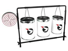 Gamo Plinking Target with Cans by Gamo. $21.90. Gamo target cans automatically reset, no need to walk down range to reset them!  Fill them with sand or water!