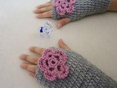 Gloves Kids girl gloves for 910years old gloves by BloomedFlower, $18.00