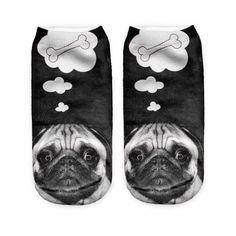 Puggies - Pug Socks