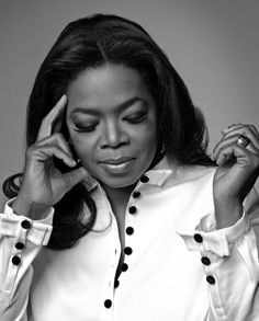 Oprah Winfrey, aka simply 'Oprah', media mogul, talk show host, actress, producer & philanthropist. She is best known for her 25-year syndicated, multi-award-winning talk show The Oprah Winfrey Show, which was the highest-rated program of its kind in history. She has been ranked the richest African-American of the 20th century, the greatest Black philanthropist in American history & was for a time the world's only Black billionaire. One of the world's most influential women.