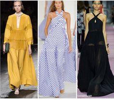 ilkbahar yaz modası 2016 maksi elbiseler