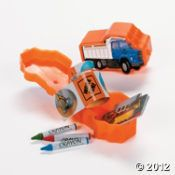 You're Loads of Fun! Filled construction stationary kits $10.50 per dozen (non candy Valentine)