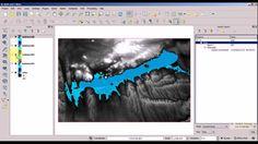 QGIS 2.8 tutorial : Fill lake with GRASS plugin