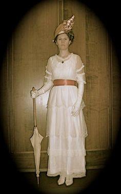 Net dress, c. 1914 - 1915