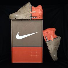 Nike AirMax 90's Custom by Sneakers and Bonsai!!!! Badass shoes!!!!!