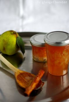 Quitten Apfel Marmelade mit Zimt by Glasgeflüster 3 klein