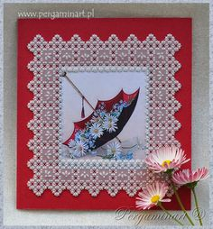 Pergaminowa ramka / Parchment frame Pergaminart ® '2014 www.pergaminart.pl