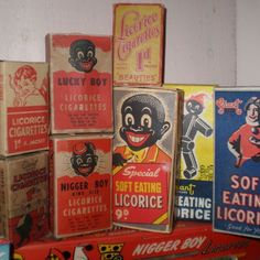 Examples of the way lollies were named