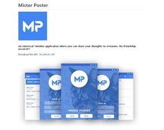 Une application mobile JavaScript pour publier tout ce que vous voulez - Mister Poster  Mister Poster est une application mobile entièrement codé en JavaScript vous permettant de publier tout ce que vous désirez rendre public.   http://www.noemiconcept.com/index.php/en/departement-communication/news-departement-com/207409-webdesign-une-application-mobile-javascript-pour-publier-tout-ce-que-vous-voulez-mister-poster.html