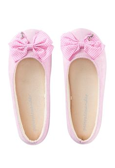 Image for Gingham Bow Couture Slipper from Peter Alexander