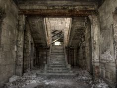 Abandoned staircase by fibreciment on deviantART.
