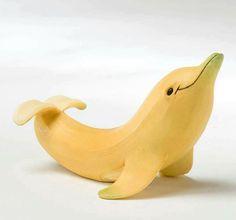 Food Inspiration  Un dauphin!!! Si ça c'est pas génial!!