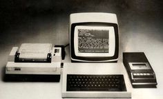 VINTAGE WORD PROCESSORS –The saved files didn't make it through all of the software changes from Apple to IBM to Microsoft to Word Perfect to MS Word. The first word processor had a small screen--the size of a calculator--which could view about five lines of text at a time.