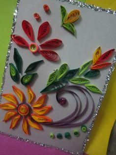 Handmade Eid Greeting Card (13) Eid Greeting Cards, Eid Greetings, Eid Mubarak, Quilling, Card Making, Card Ideas, How To Make, Handmade, Crafts