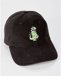 3f97325ae32a4 Reptar Rugrats Dad Hat - Nickelodeon - Spencer s