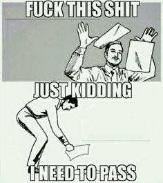 Pardon the French but this is so true of Finals lol