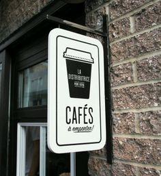 Cafes Shop Signage, Signage Design, Branding Design, Cafe Design, Design  Room, ad3568c50bf4