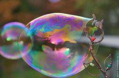 палочка для мыльных пузырей Тюльпан (мыльные палочки из меди) - Elena Schelchkova 2014