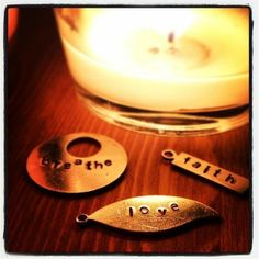 Another great DIY project from @Darby Casey Smart! #madebyme #darbysmart #diy #metal #project #love #faith #breathe