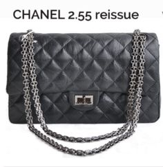 The history of the Chanel 2.55 bag - the original designed by Coco Chanel  and the 5e8a6a4e17d8